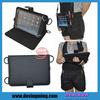 """7"""" to 8"""" tablet universal case leather flip shoulder strap case"""