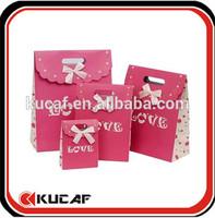 lovely paper bag trendy sweet paper bag for girls