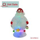 christmas motif plastic valentine's day water globe with photo frame insert snow ball paper weight