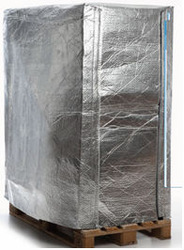 Factory for Aluminum foil Pallet cover for better insulation and shock proof