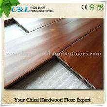 2014 New Arrival Acacia Handscraped Hardwood Floors