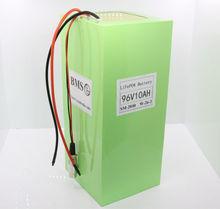 Lithium 96v 10ah battery pack