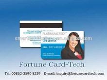 pvc member cards , magnetic stripe for plastic business cards, inkjet printing cards