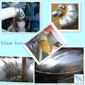 De duas peças 45 / 90 / t grau de alumínio à prova d ' água de refrigeração material