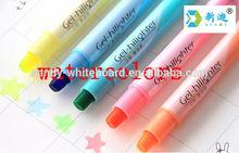 Candy color large capacity fluorescent pen students mark pen Marker pen