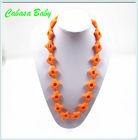 multi-color cross pendant silicone pendant&channel fashion jewelry necklace