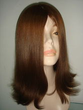 new image 7A virgin unprocessed European human hair wigs for alopecia follea pruik/ reemplazo de cabello