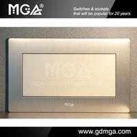 MGA Q9 Series 2 Gang blank modular switch plates