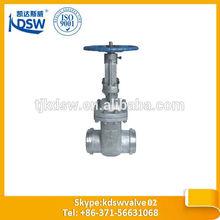 butt weld gate valve