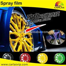 Plasti Spray Paint Decorative car motorcycle wheel