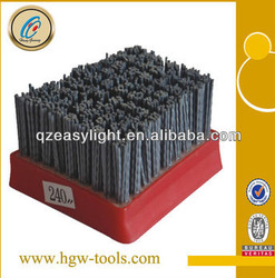Strong steel wire brush /steel rope brushes /frankfurt antique brush in diamond stone tools