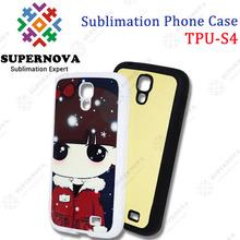 High Quality Custom Printed TPU Cover for Samsung i9500 (Galaxy S4)