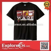 Wholesale anti sweat fashion men beautiful t shirt 2014 printing