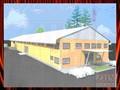 2014 New design steel structure chicken house