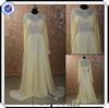 PP0195 beaded high neck chiffon arabic long evening dresses formal