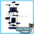 Diseño de lujo de madera de sisal gato de la casa del árbol