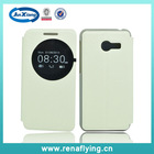 hight quality products pu leather flip cover for asus zenfone 4