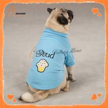 High Quality New Design Luxury Super Soft Plain Dog T-Shirts