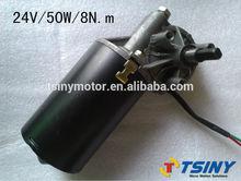 high torque right angle 24v Garage Door dc gear wiper motor