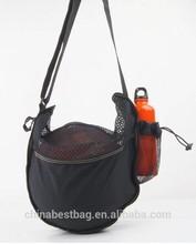 2014 new design polyester shoulder basketball bag