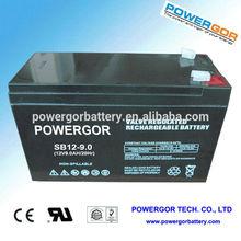 12v volt 9ah exide ups battery