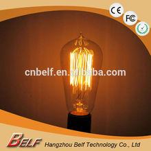 ST58 40W E27 220v edison light bulbs