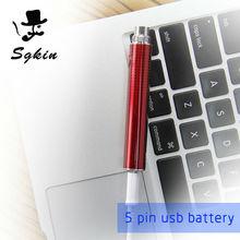 5 PIN USB cable estatua de la libertad de la batería