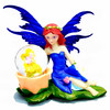 2014 Wholesale customized plastic life size home decor pretty fairy resin craft figurine