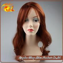 Wholesale so long angle black remy hair human hair 100% german lace wig