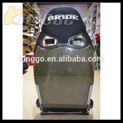 Black Racing Car Carbon Fiber Bucket Racing Seat