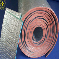 Thermal insulation material for oven/aluminum foam foil insulation