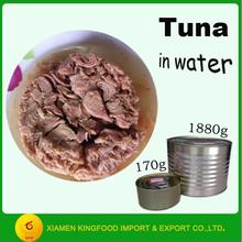 tasty 170g bonito fish chunk tuna in water from China