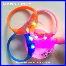 Motion activated led bracelet