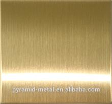 304 NO.8 SUPER MIRROR GOLD FINISH STAINLESS STEEL SHEET INOX