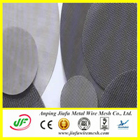 ISO2000 Aluminum Wire Mesh Filter Disc (Anping Jiufu Really Factory)