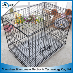 Factory price for folding dog cage strong stainless steel dog cage/metal dog cage/dog cage pet house