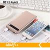 6000mAh business style portable power bank mirco usb charger for mobiles