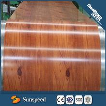 Wooden grain color coated steel/steel and wooden furniture