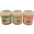 antibacteriano prima de hisopos de algodón bastoncillos de algodón de doble punta