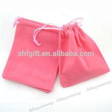 Wholesale shenzhen velvet drawstring bag,velvet pouch, velvet bag for jewelry