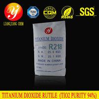 Liangjiang chem new product rutile titanium dioxide R218 with high purity, sulfuric acid, liquid titanium dioxide