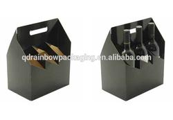 Custom printing six pack beer box beer carrying case