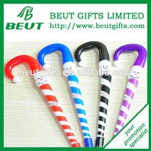 Cheap Lovely Personality Christmas Ball Pen Umbrella Shape Ballpoint Pen Gift for Kids