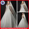 SA10113 Cap sleeve new saudi arabian wedding dres fabric
