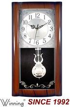 Wall Clock With Pendulum, Antique Pendulum Clock
