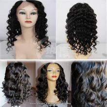 Favorites Compare Hot sale beautiful unprocessed Natural Straight Human Remy_ Hair Blond U-part Wig