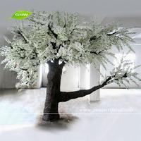 BLS064 GNW Big Fiber glass Trunk Artificial Cherry Blossom Tree Wedding Mandap Decoration White Color