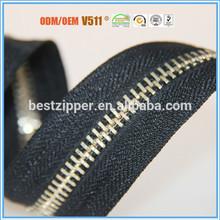 fashion zipper for trousers with INTERTE /SGS/STR/OEKO-TEX 100 certificate