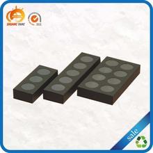 Eco-friendly custom wholesale pretty rectangle paper cardboard cake box