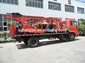 Alta eficiência e dth rotativo caminhão- montado água do poço de perfuração da máquina